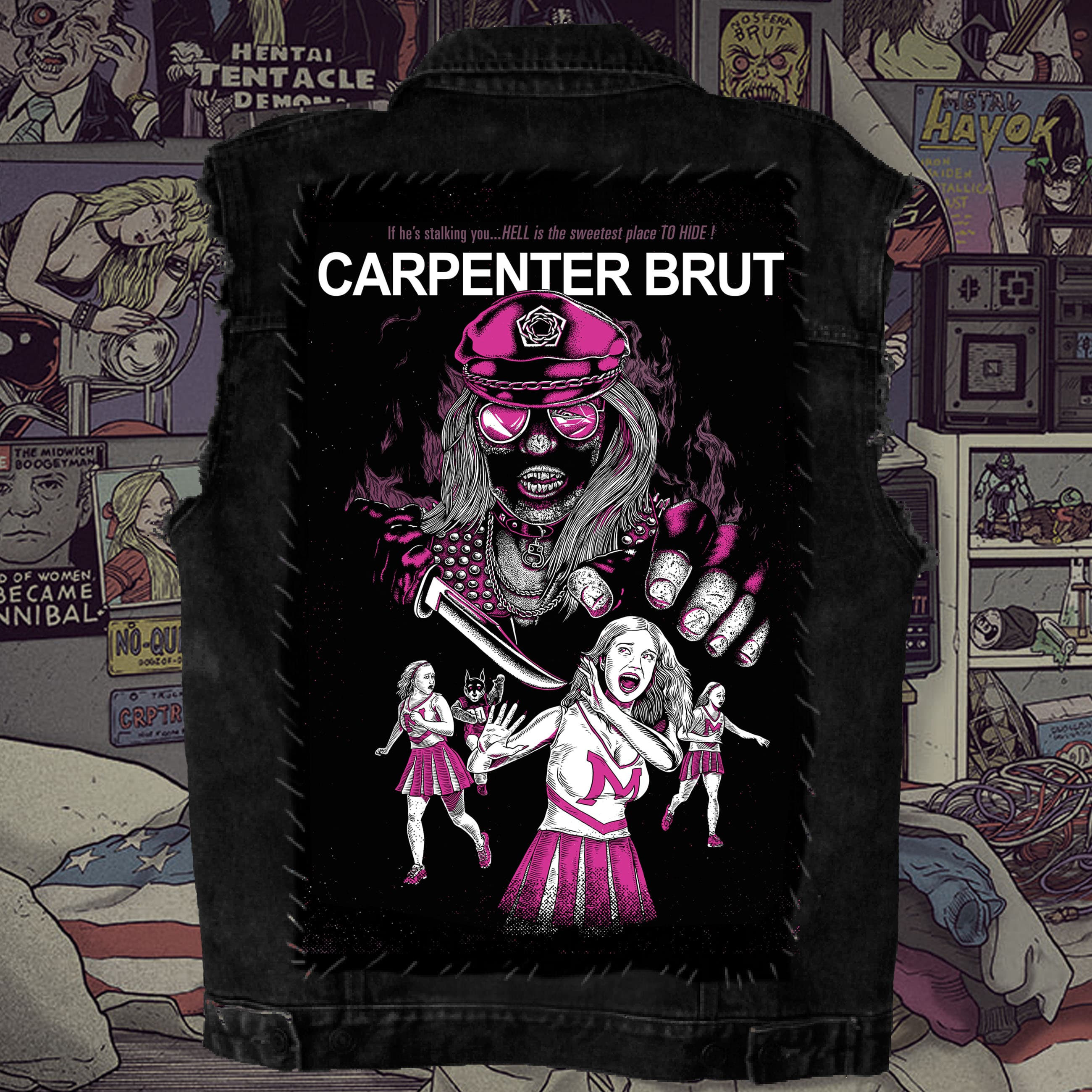 † Leather Teeth † Back Patch †